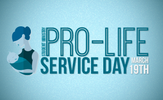 Student Ministry Pro-Life Service Day