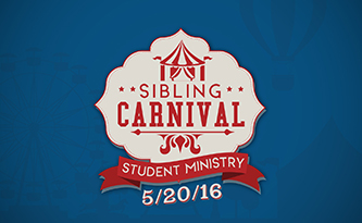 Student Ministry Sibling Carnival