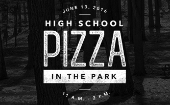 High School Pizza in the Park