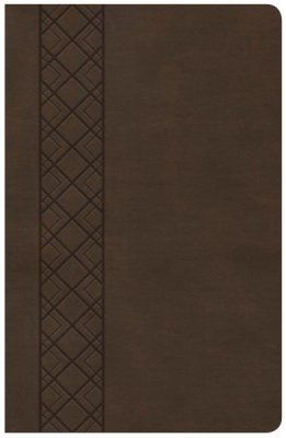 The The CSB Ultrathin Reference Bible is easy-to-carry and easy-to-read, featuring a robust center-column, cross-reference system, 8.5-point type, and an ultrathin design which slips easily into a purse, briefcase, or backpack. As America's oldest Bible Publisher, Holman is a pioneer in the development of Ultrathin Bibles, giving careful attention to breakthroughs in typography and paper manufacturing to produce a Bible that combines readability, portability, and durability.