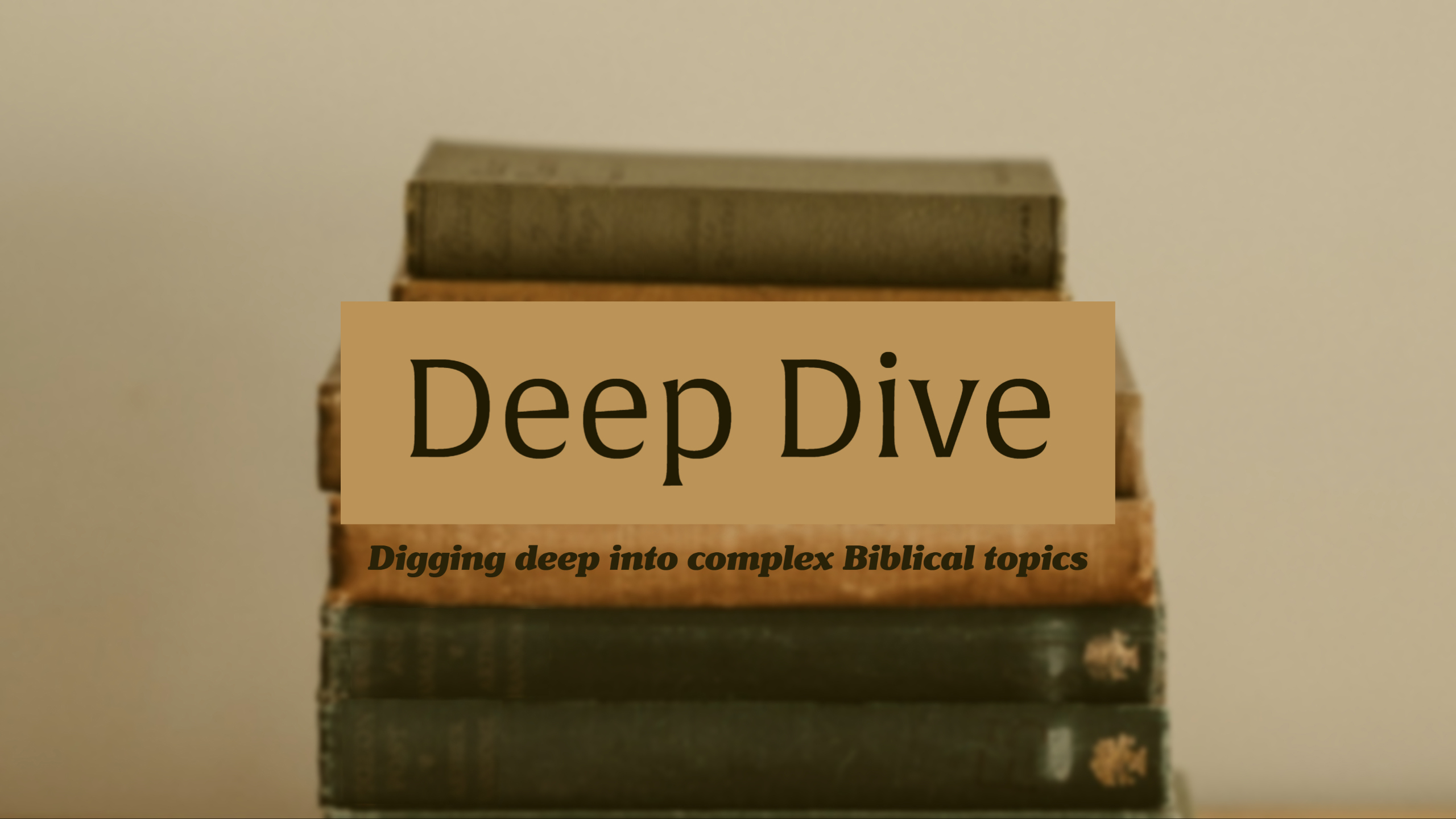 Deep Dive Cover 1 Featured Image
