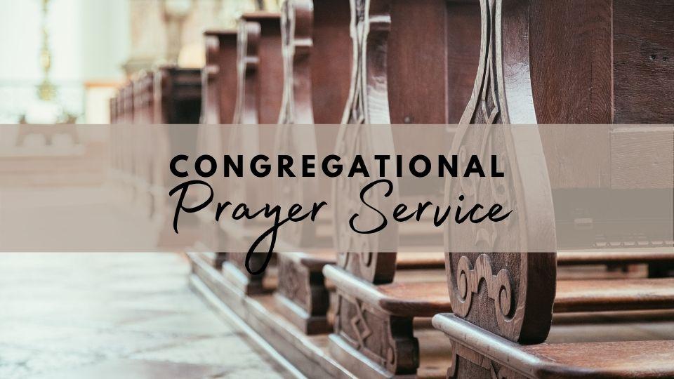 Congregational Prayer Service 7 FI