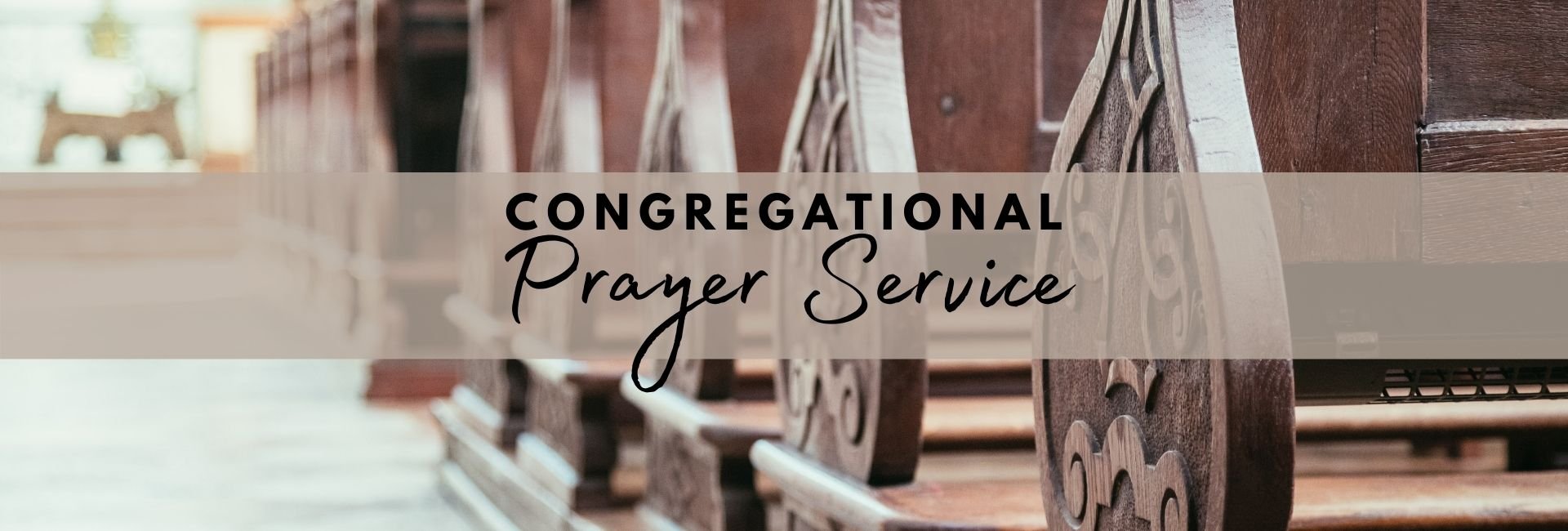 Congregational Prayer Service 7 Web